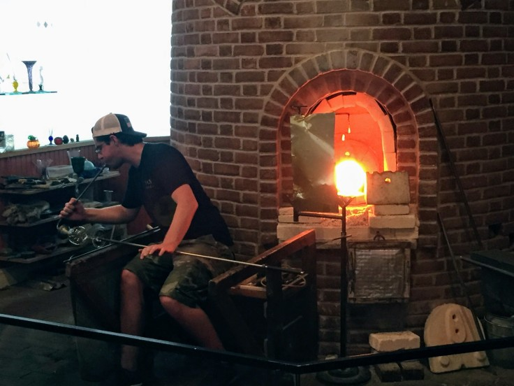 2017-07-10 Sandwich Glass Blowing 4