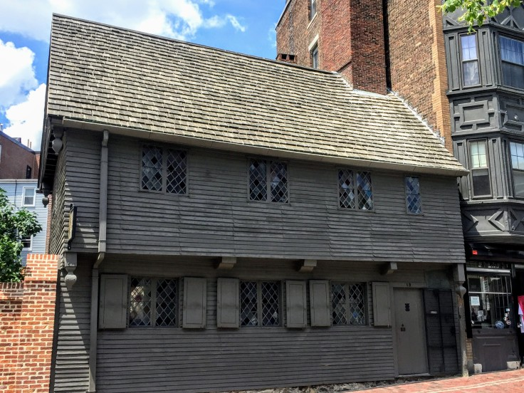 2017-07-17 Boston - Paul Revere House