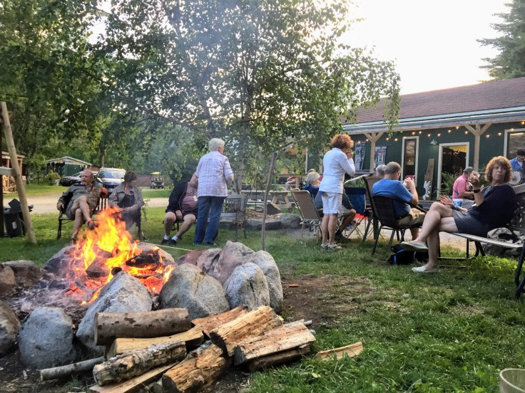 2017-07-19 Searsport - Campfire