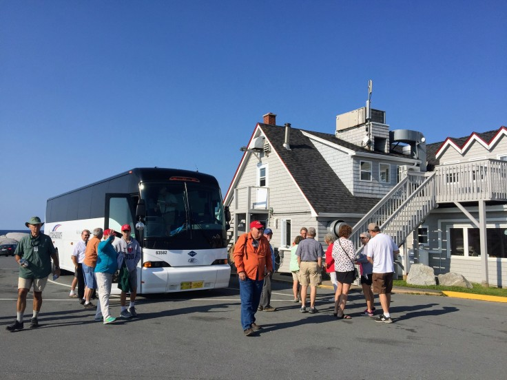2017-08-01 Peggys Cove - Bus