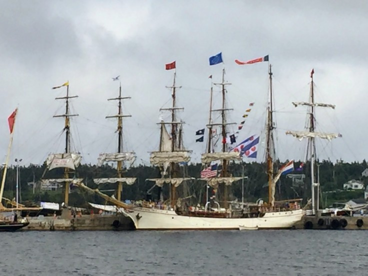 2017-08-04 Louisbourg - Tall Ships 01