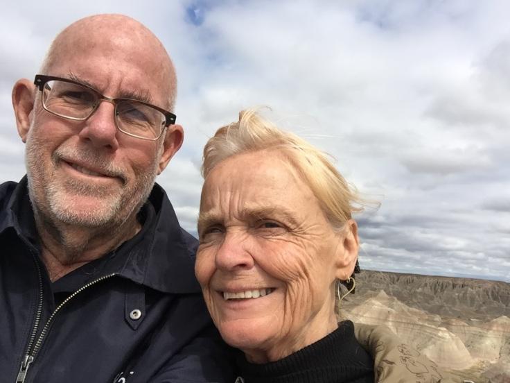 2017-09-16 SD 33 Badlands Selfie