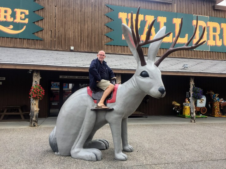 2017-09-16 SD 61 Wall Drug Jackalope